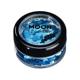 Blue- Moon Chunky Holographic Glitter, 3g
