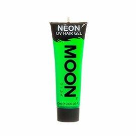 Intense Green- Moon Glow Neon UV Hair Gel, 0.67oz