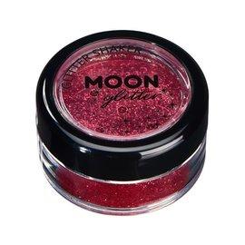 Red- Moon Glitter Classic Fine Shaker, 5g