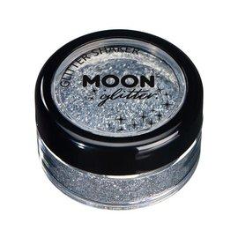 Silver- Moon Glitter Classic Fine Shaker, 5g