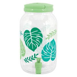Palm Leaf Drink Dispenser- 1 Gallon