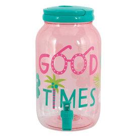 """Summer """"Good Times"""" Drink Dispenser- 1 Gallon"""