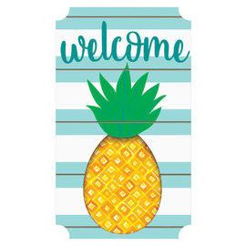 """Pineapple Large Easel Back Sign 13 1/2""""  x 23 1/2"""""""