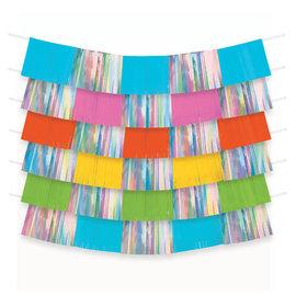 Foil Decorating Backdrop - Multi