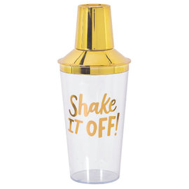 Cocktail Party Cocktail Shaker - Hot-Stamped Gold