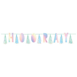 Shimmering Party Tassel Garland