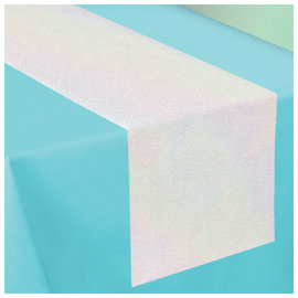 Shimmering Party Fabric Table Runner