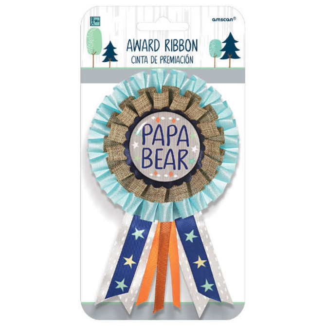 Bear-ly Wait Award Ribbon for Dad - Papa Bear