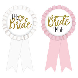 Bride & Team Bride Award Ribbons -8ct