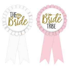 Bride & Team Bride Award Ribbons -8ct