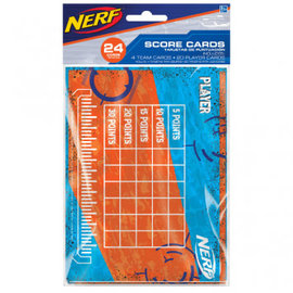Nerf® Score Cards 24ct.