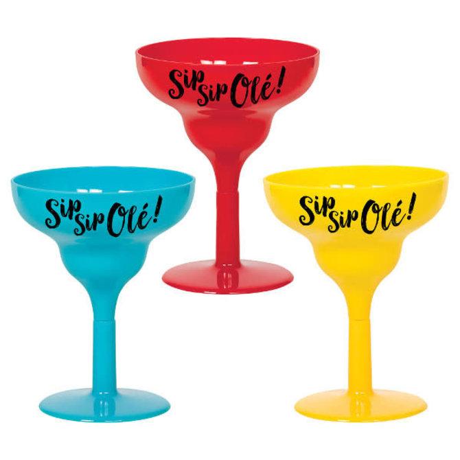 Margarita Shot Glasses 1.7oz - 6ct