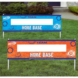 """Nerf® Roll Up Signs """"Home Base"""" 2ct."""