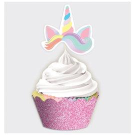 Magical Rainbow Birthday Cupcake Kit -24ct