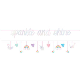 Magical Rainbow Birthday Double Banner Multipack -2ct