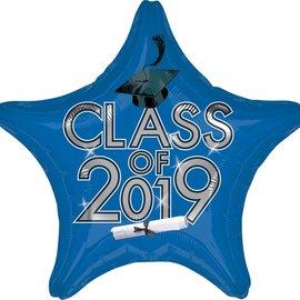 """Class Of 2019 Blue Star, 19"""""""