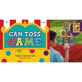 Can Toss Carnival Game