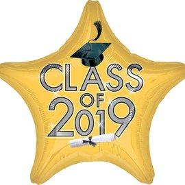 "Class of 2019 Gold Star, 19"""