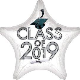 "Class of 2019 White Star, 19"""