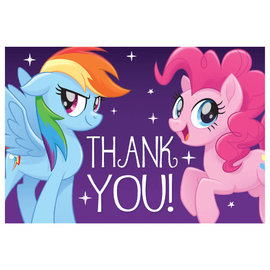 My Little Pony Friendship Adventures™ Postcard Thank You- 8ct