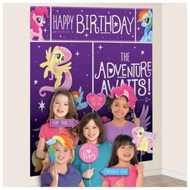 My Little Pony Friendship Adventures™ Scene Setters Wall Decorating Kit w/ Props