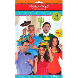 Fiesta Photo Prop Kit