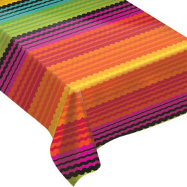 Fiesta Flannel-Backed Vinyl Table Cover