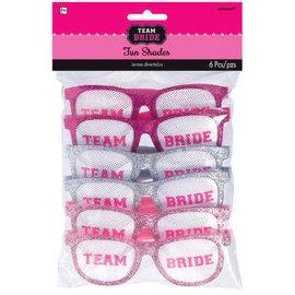 Team Bride Funshades™, 6ct