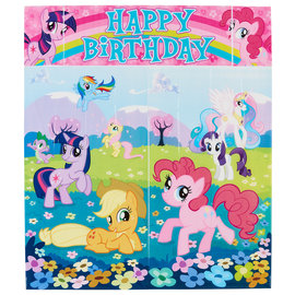 My Little Pony Friendship Scene Setter Wall Decorating Kit
