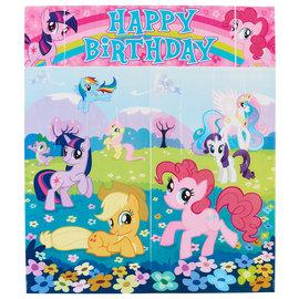 My Little Pony Friendship Scene Setter Wall Decorating Kit