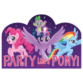 My Little Pony Friendship Adventures™ Postcard Invitations