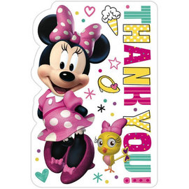 ©Disney Minnie Mouse Happy Helpers Postcard Thank You