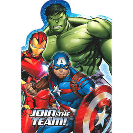 Marvel Epic Avengers™ Postcard Invitations