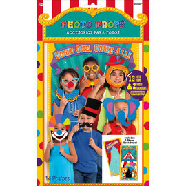Carnival Photo Props, 14ct