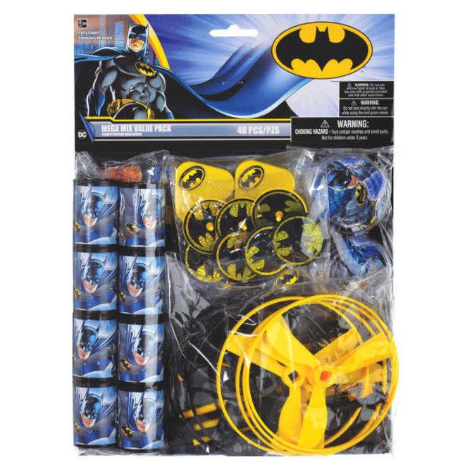 Batman™ Mega Mix Value Pack Favors, 48pc