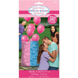 Balloon Gift Bag Reveal Girl Includes Balloons