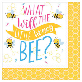 What Will It Bee Lunch Napkin 16Ct