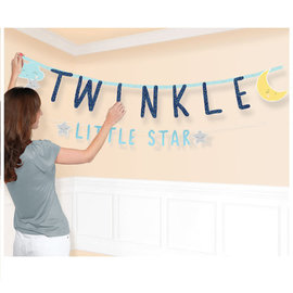 Twinkle Little Star Jumbo Letter Banner Kit, 2 in Package
