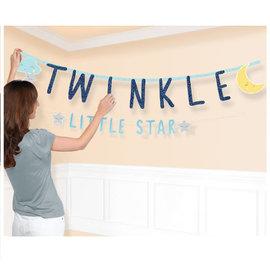 Twinkle Little Star Jumbo Letter Banner Kit, 2 in Package
