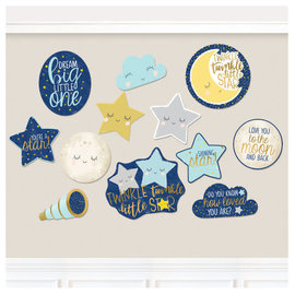 Twinkle Twinkle Little Star Cutouts 12Ct