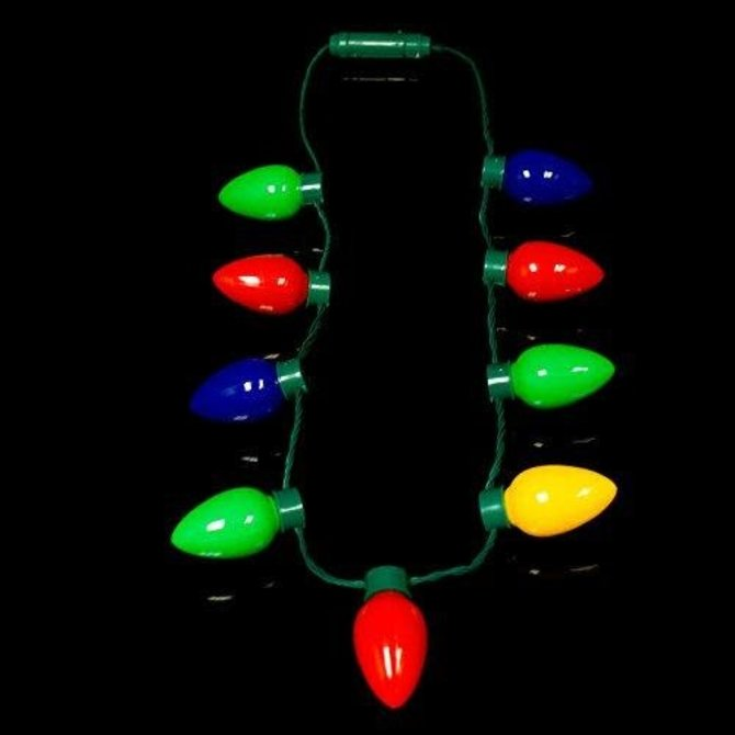 Christmas Lights LED Necklace