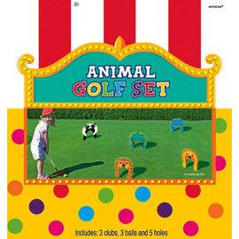 Animal Golf Set 11pc