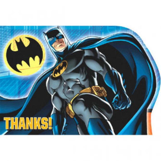 Batman™ Postcard Thank You Cards, 8ct