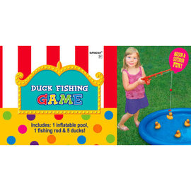 Duck Fishing Game With Rod