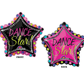 Dance Star Shape Balloon, 30""