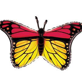 """Monarch Butterfly Shape Balloon, 32"""" (#281)"""