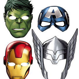 Marvel's Avengers Paper Masks, 8ct