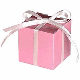 New Pink Favor Boxes- 100ct