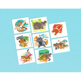 ©Disney The Lion Guard Tattoo Favors 8ct- Clearance