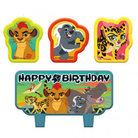 ©Disney The Lion Guard Birthday Candle Set- Clearance